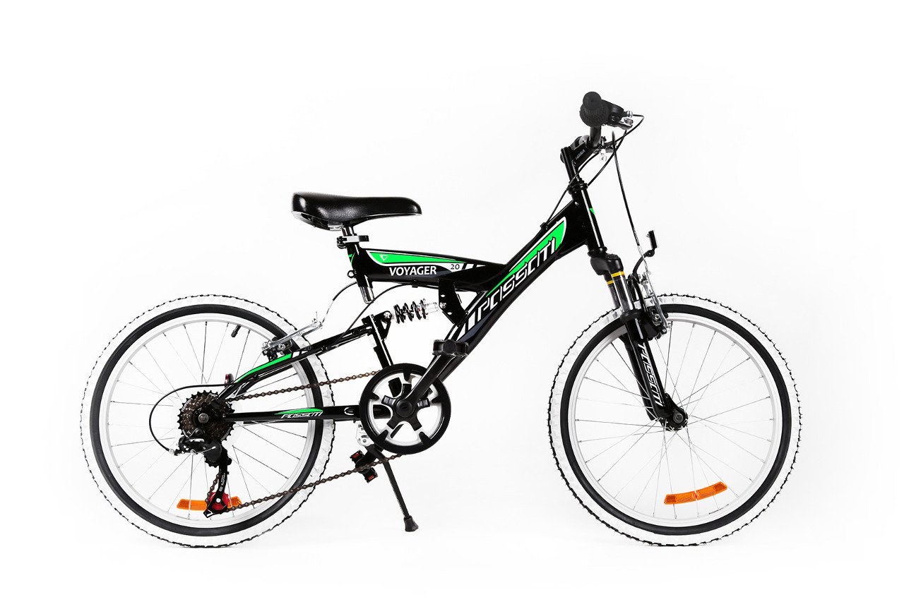 MTB VOYAGER 20 - BLACK GREEN