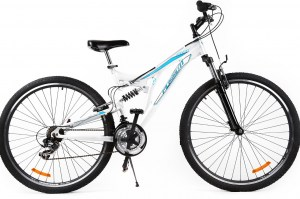 Mountain Bike BLOG 29 - White/Blue