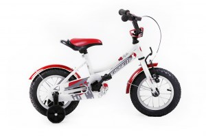 Kids Bike NINJA 12 WHITE-RED