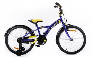 Kids Bike NINJA 20 BLUE-YELLOW